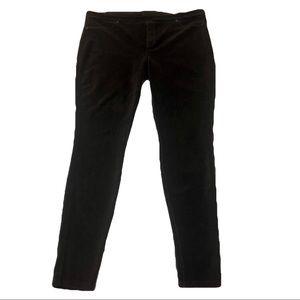 Hue Dark Brown Corduroy Jegging Size XL